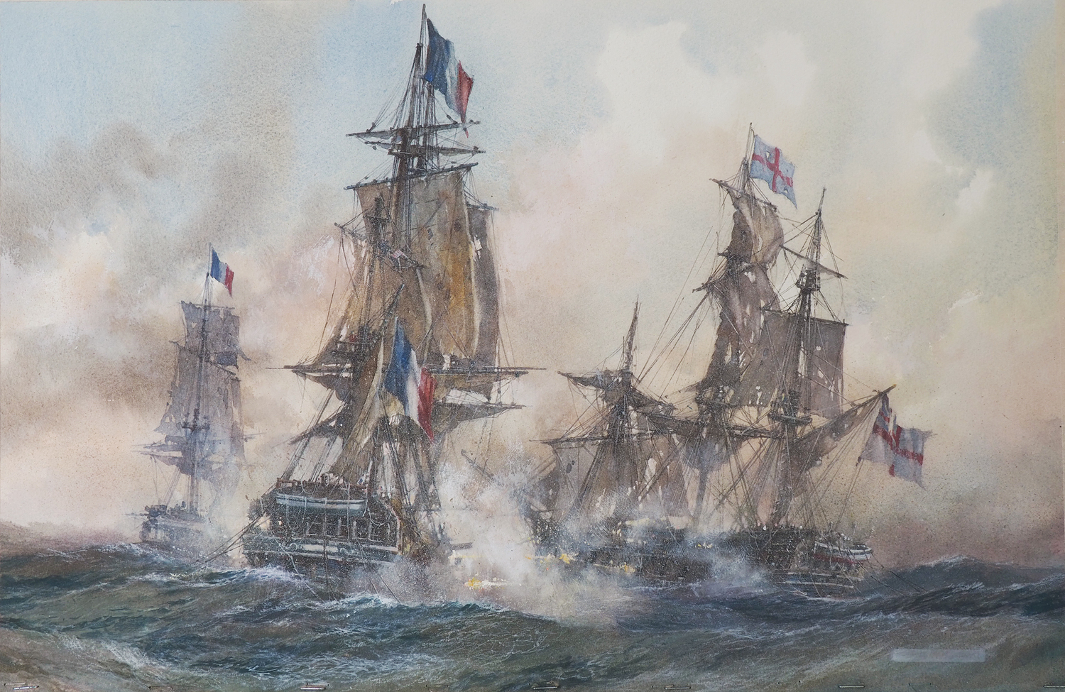 Frigates in Action 1794